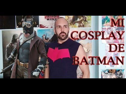 Mi cosplay de Batman   DIY #BATMAN #COSPLAY