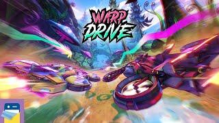 Warp Drive - Teleport Racing!: iOS Apple Arcade Gameplay (by Supergonk)
