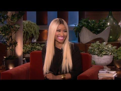 Nicki Minaj's Revealing Outfit