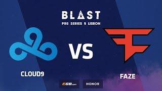Cloud9 vs FaZe, Stand-off match, BLAST Pro Series: Lisbon 2018
