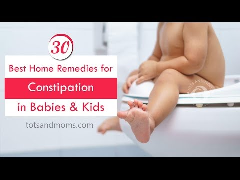 30 Home Remedies for Constipation in Babies and Kids with Food Ideas during Constipation
