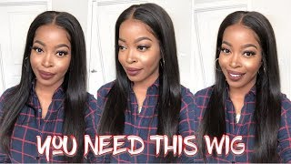 This video is about THE BEST YAKI STRAIGHT LACE FRONTAL I've EVER T...