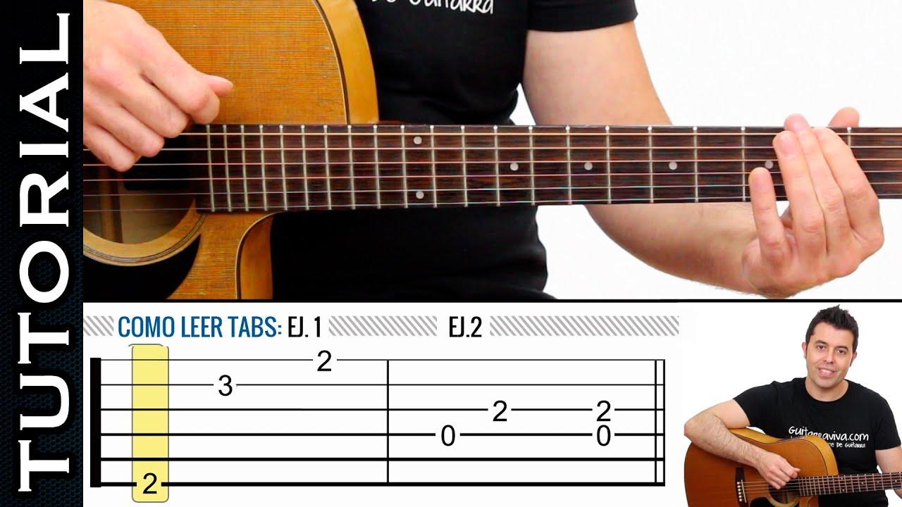 como leer tablaturas tabs de guitarra f cil de guitarraviva clase 1 youtube. Black Bedroom Furniture Sets. Home Design Ideas
