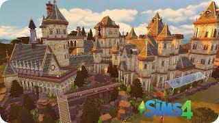 Хогвартс в The Sims 4 - Обзор постройки ◊ Hogwarts House Tour