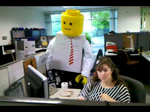 lego halloween costume homemade lego man youtube - Homemade Men Halloween Costumes