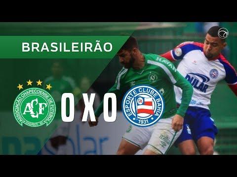 CHAPECOENSE 0 X 0 BAHIA - MELHORES MOMENTOS - 28/07 - BRASILEIRÃO 2019