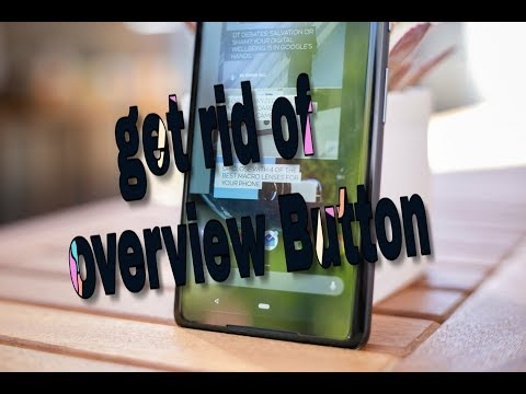 How To Hide Overview Button On Android