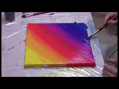 Vorübung Großer Farbverlauf Malen Nach Fotos Ist Ganz Einfach