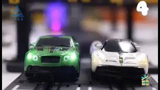 ✔✔Pista Eléctrica Para Autos de Carrera con Doble Circuito //Juguetes para Niños👍