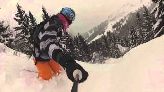Session Snowboard 2016 St Gervais Mont Blanc GoPro silver édition