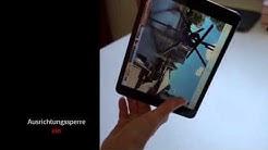 iPad Tipp zur Verwendung der Ausrichtungssperre