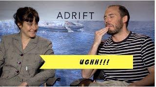 Video interview of Shailene Woodley and Sam Claflin talking about the movie Adrift