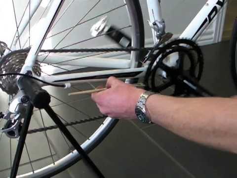 smøring af cykelkæde