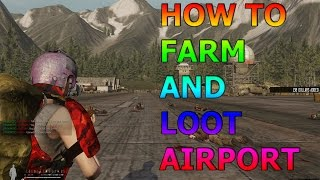 Infestation: The NewZ - Best way to Loot and Farm  Airport