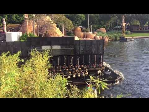 Snipit Of The Illuminations Barges Coming Into World Showcasee