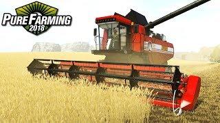 Największy kombajn - Pure Farming 2018 | #32