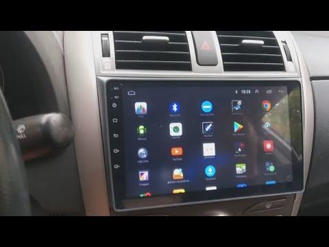 Магнитола для Королла е150 / Android магнитола Corolla E140 E150