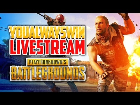 Playerunknown's Battlegrounds Live 💀 YAW Live Stream (Apr 20, 2017)