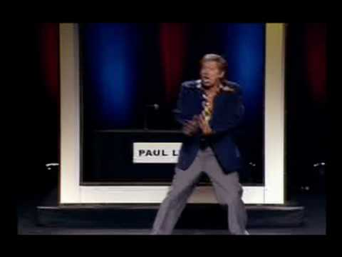 OH MY GOODNESS.its PAUL LYNDE..Theater