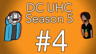 Minecraft - DraftCrafters UHC S5: Episode 4 - Racecar is racecaR backwards
