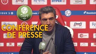 Conférence de presse Stade de Reims - RC Lens ( 3-1 )  / 2017-18