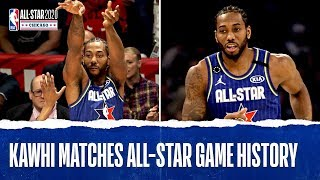 Kawhi Matches All-Star Game HISTORY With 25 PTS In Two Quarters!