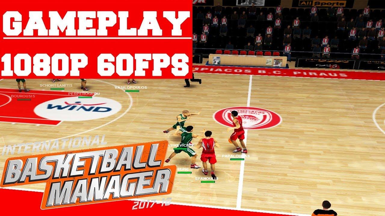 International Basketball Manager Gameplay (PC) - YouTube