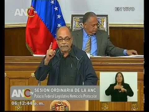 Pedro Calzadilla, discurso ante la ANC por la Constituyente de la Identidad Cultural