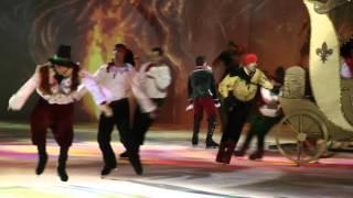 Бриан Жубер в роли разбойника. Снежный Король 2. Возващение.  Санкт-Петербург 07.11.2015