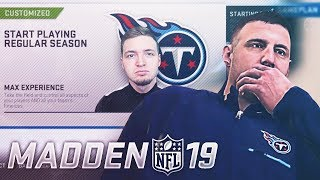 Creation Of The First Madden NFL 19 Franchise Series *2 MONTHS EARLY*