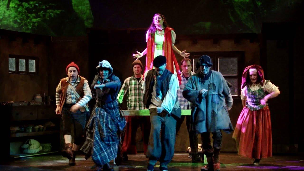 'Caperucita Roja, el musical' - 'El bosque mágico