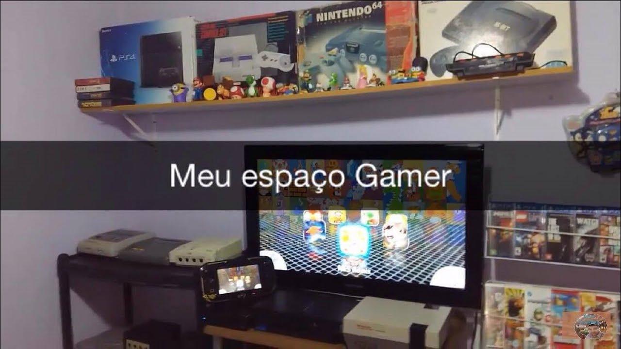 44180e678ecb Meu espaço gamer, video games, controles e acessorios! - YouTube