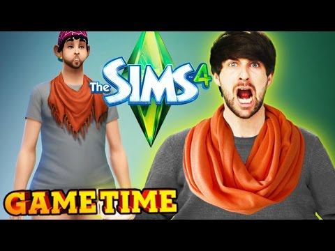WE'RE A SEXY FAMILY IN THE SIMS 4 (Gametime w/ Smosh Games)