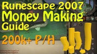 Runescape07 - Ultimate Money Making Guide Part 2 - Cannonballs