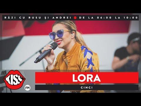 Lora - Cinci (Live @ Kiss FM)