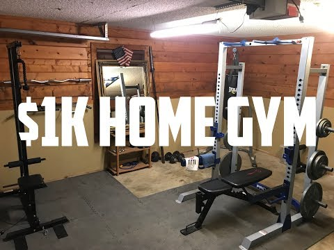 $1K HOME GYM TOUR