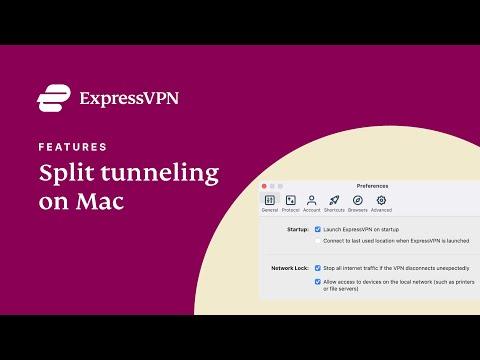 What Is VPN Split Tunneling? | ExpressVPN