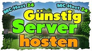 Repeat youtube video Günstige Minecraft Server hosten - Tutorial (MC-Host24) (Einfach|Schnell|Günstig)