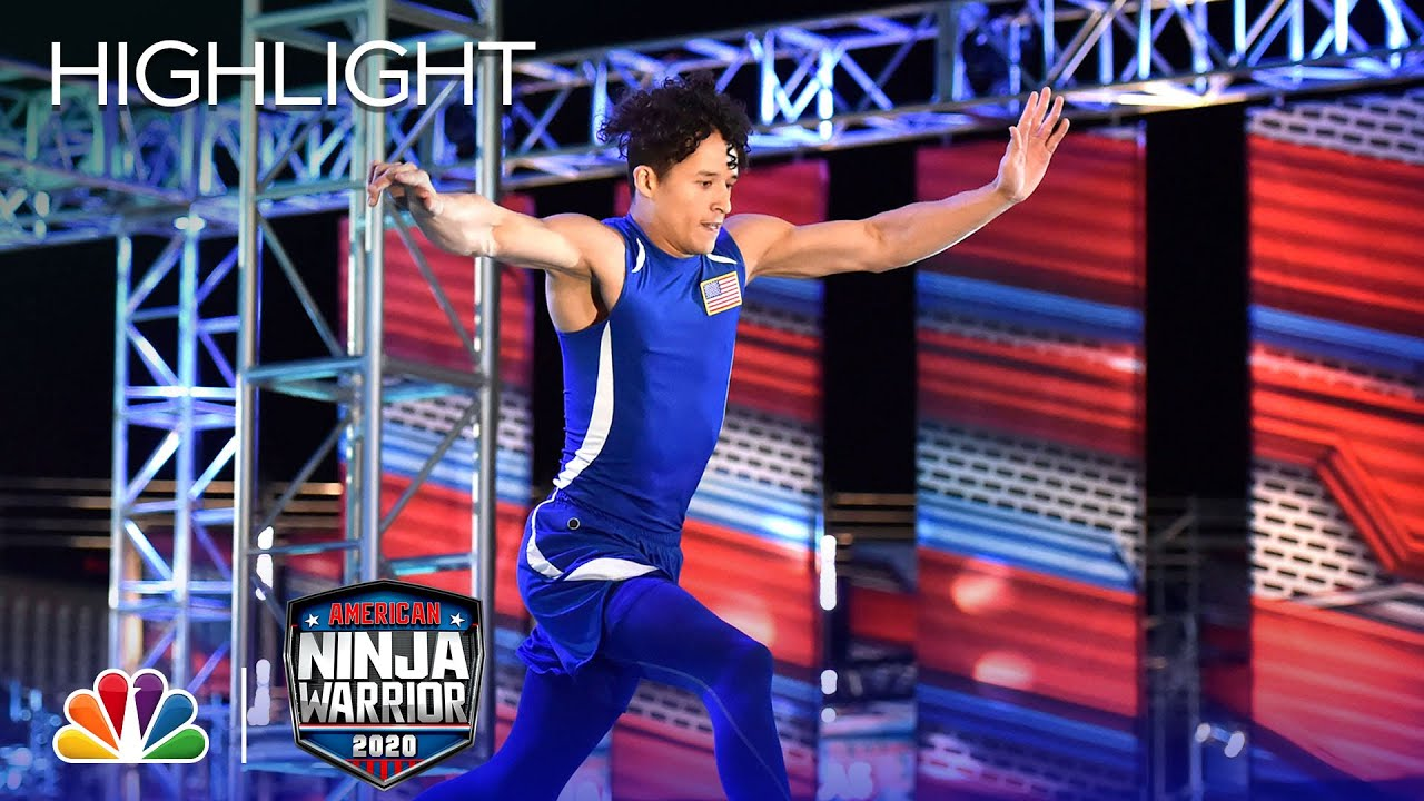 Michael Torres Absolutely Destroys Stage 1 - American Ninja Warrior: USA vs. The World