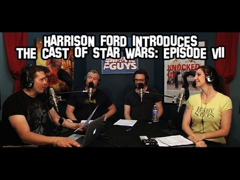 """HARRISON FORD ANNOUNCES THE CAST OF """"STAR WARS - EPISODE ..."""