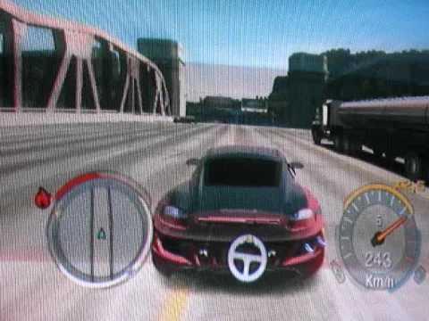 need for speed undercover wii stunt youtube. Black Bedroom Furniture Sets. Home Design Ideas
