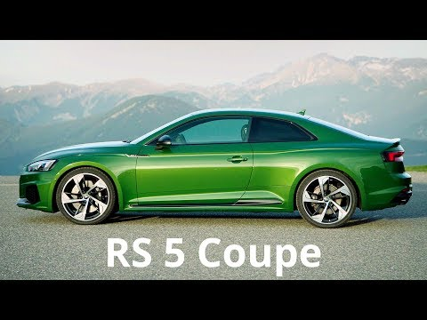 2017 Audi RS 5 Coupe  - 0 to 100 km/h in 3.9 sec. (Sonoma Green)