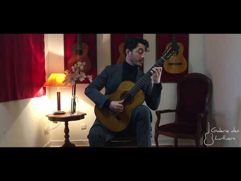 Gabriel Bianco Plays Choro De Saudade By Agustín Barrios (1924 Francisco Simplicio)