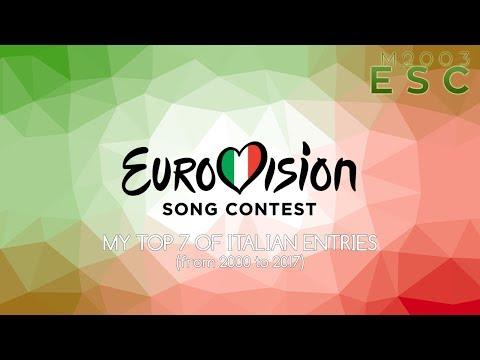ITALY in Eurovision Song Contest: My top 7 of Italian entries [2000-2017]