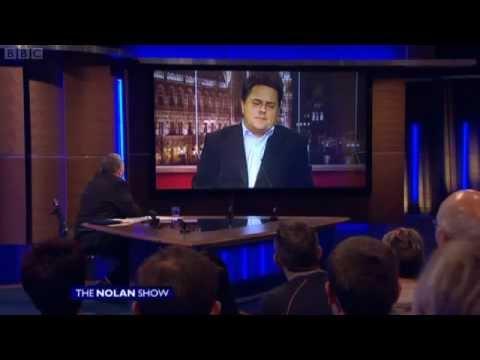 "Nolan Show: BNP Loyalist Griffin on ""Fenian Bastards"" tweet 1/2"