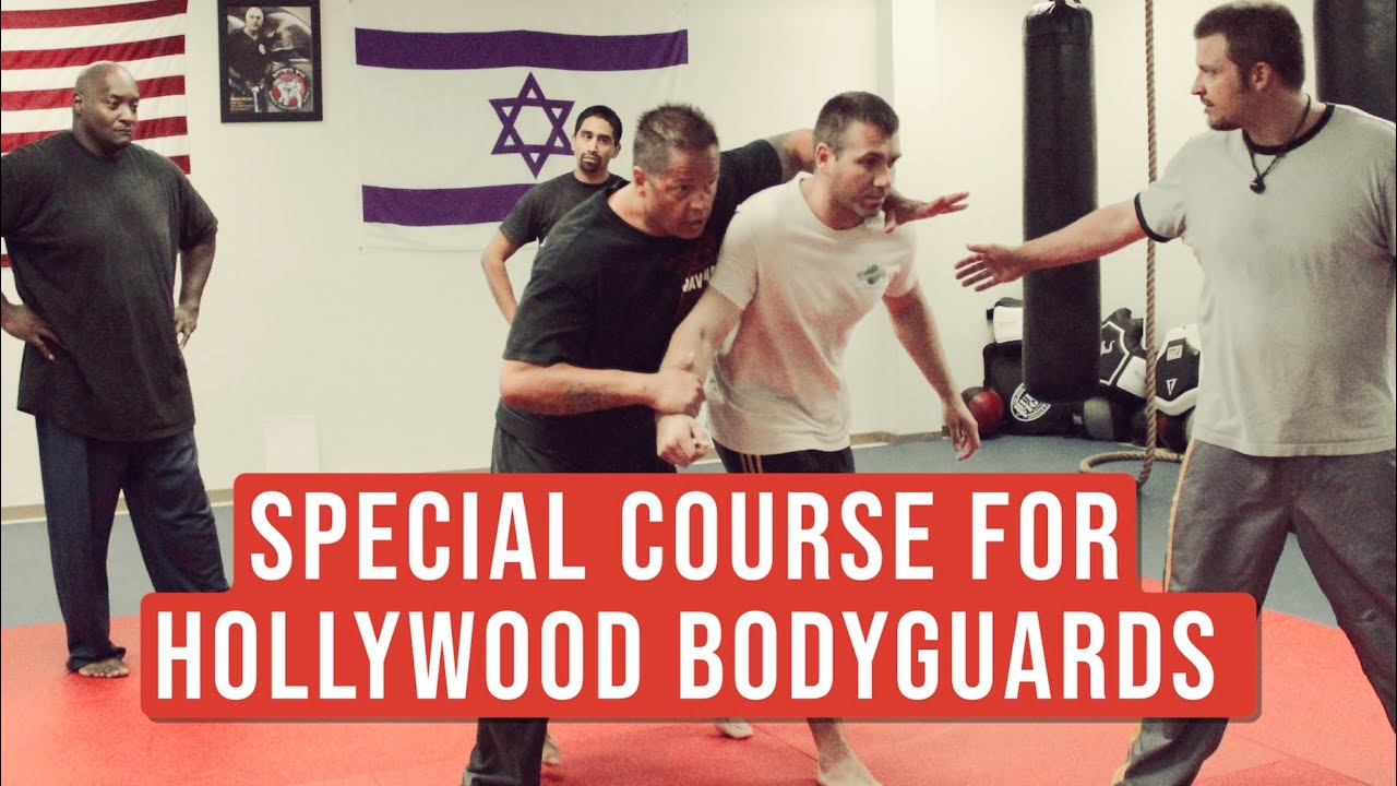 A special course for the Bodyguards from Nicki Minaj and Britney Spears by Michael Rüppel