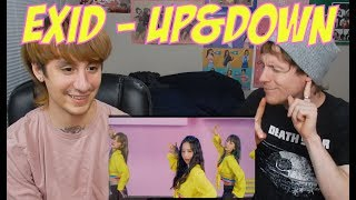 EXID - UP&DOWN (Japanese Version) [Reaction]