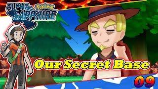 We Find our Secret Base in Pokemon Alpha Sapphire 09 in Hindi | Pokemon Alpha Sapphire