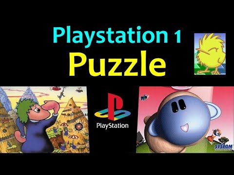 10 Awesome PS1 Puzzle Games 🧩 Video 2 ... (Gameplay)