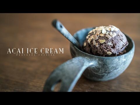 Acai Ice Cream (vegan) ☆ アサイーアイスクリームの作り方